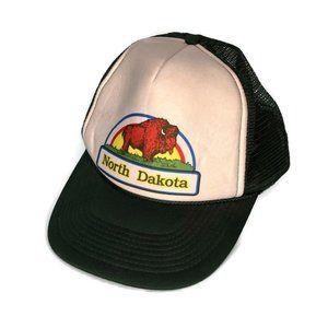 Vintage Otto North Dakota Bison Cap